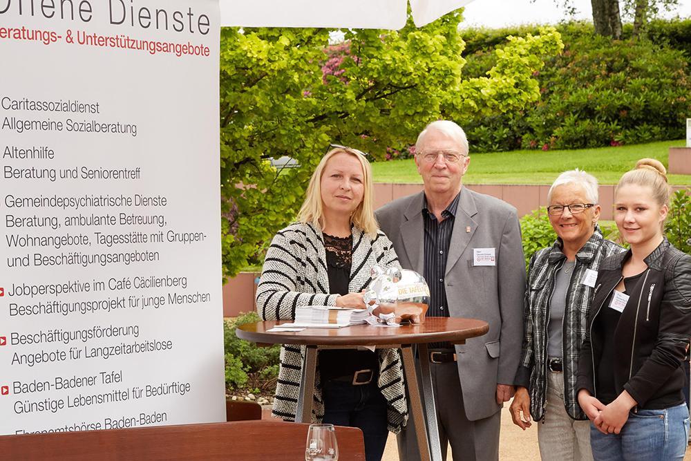 Tag des offenen Gartens 2016 in der Villa Belveder Baden-Baden