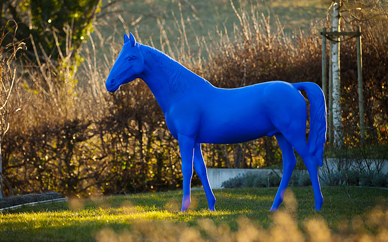 Die Farbe Blau